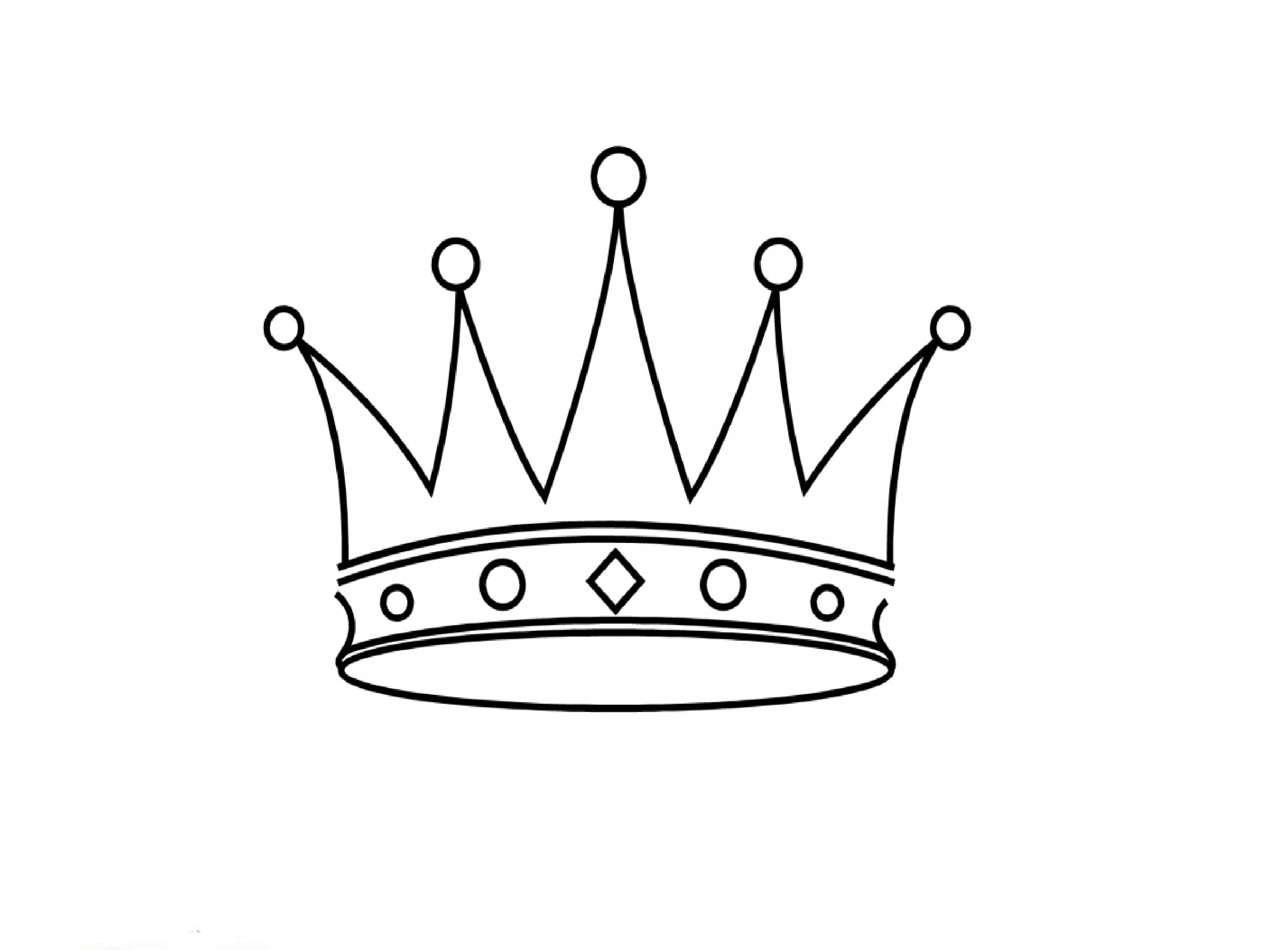 Crown Drawing At Getdrawings