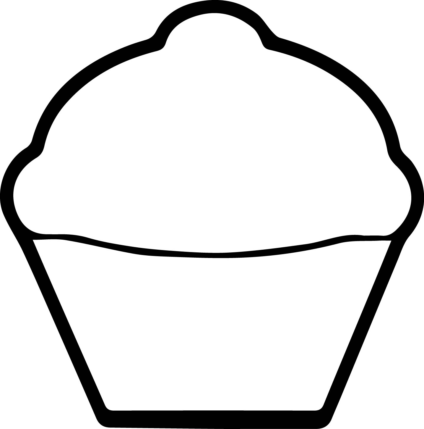 Cupcake Drawing Easy At Getdrawings