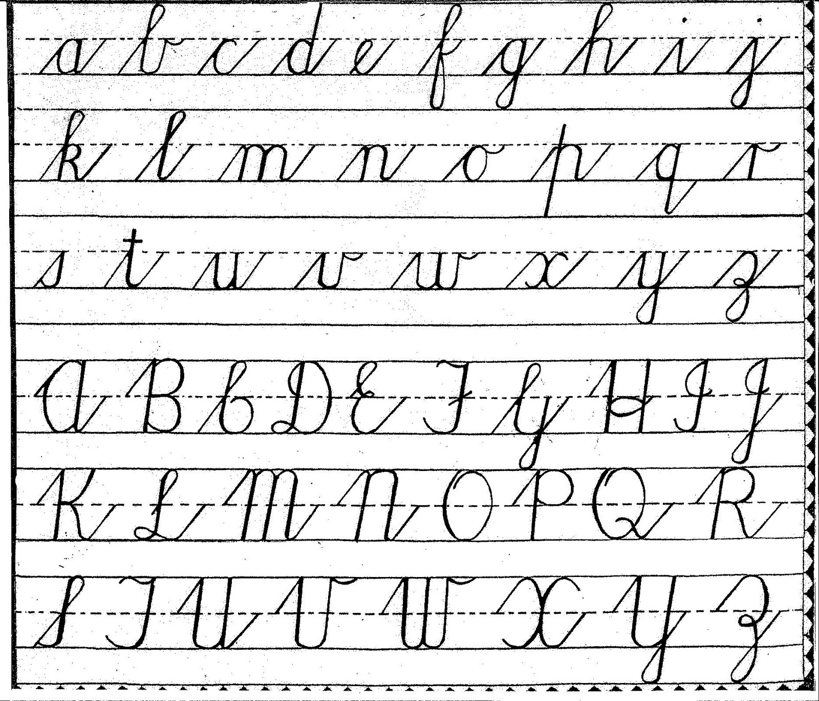 Cursive Letters Drawing At Getdrawings