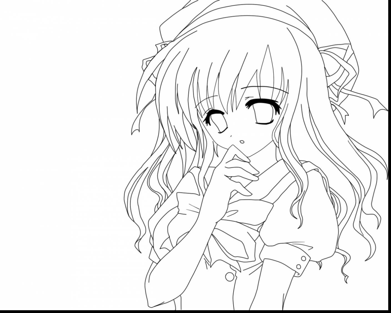 Cute Anime Girl Drawing At Getdrawings