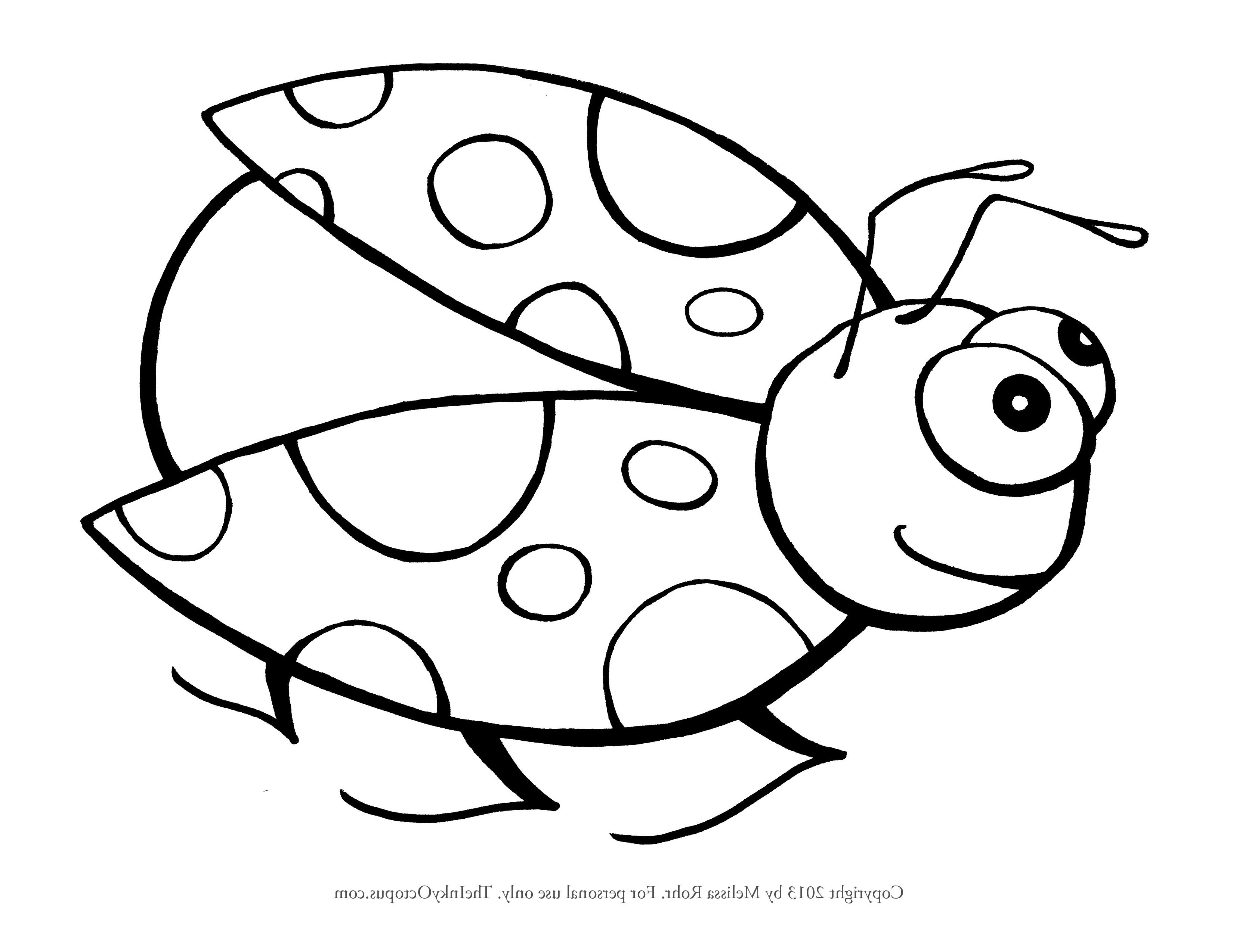 Cute Ladybug Drawing At Getdrawings
