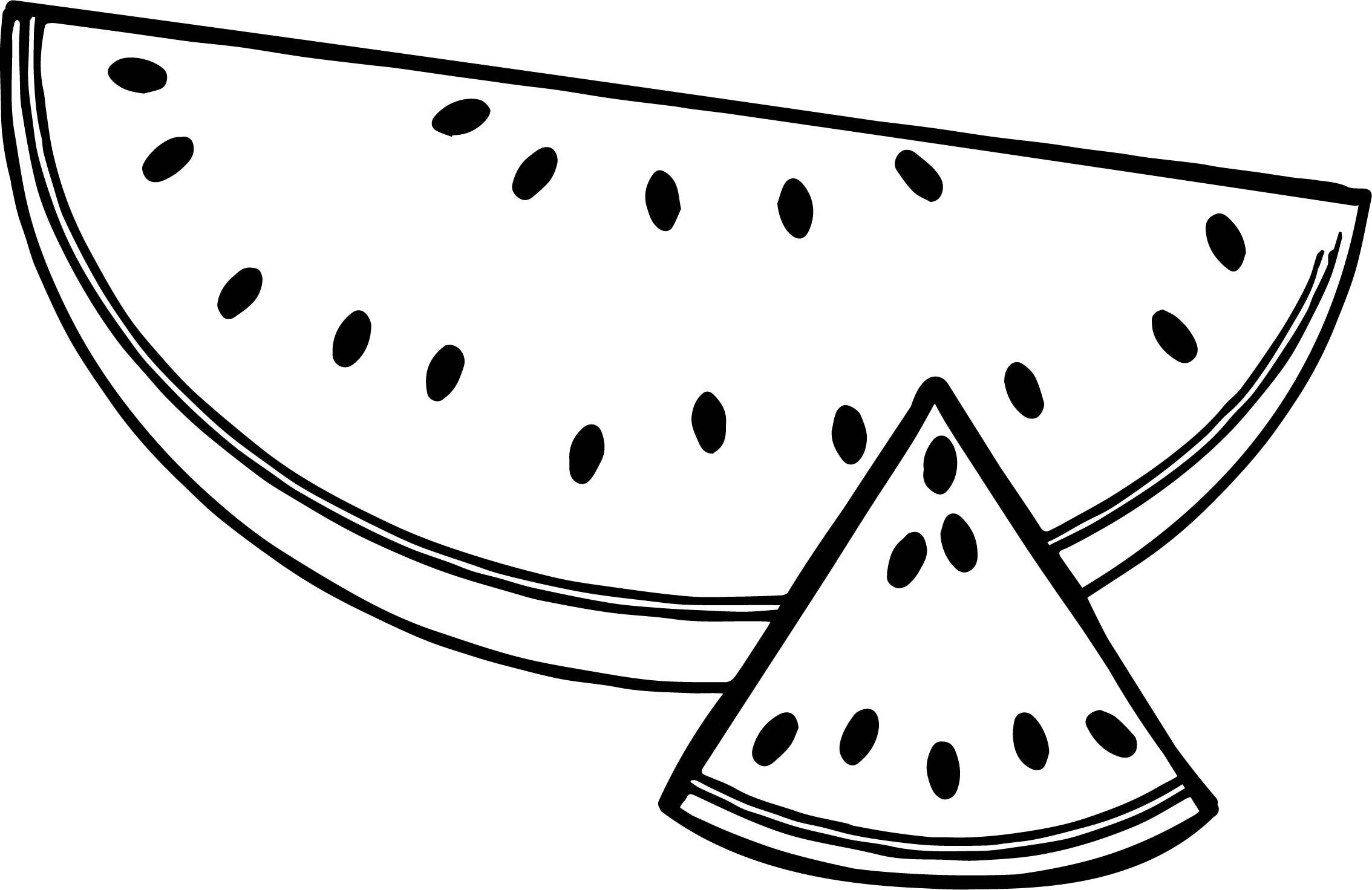 Cute Watermelon Drawing At Getdrawings