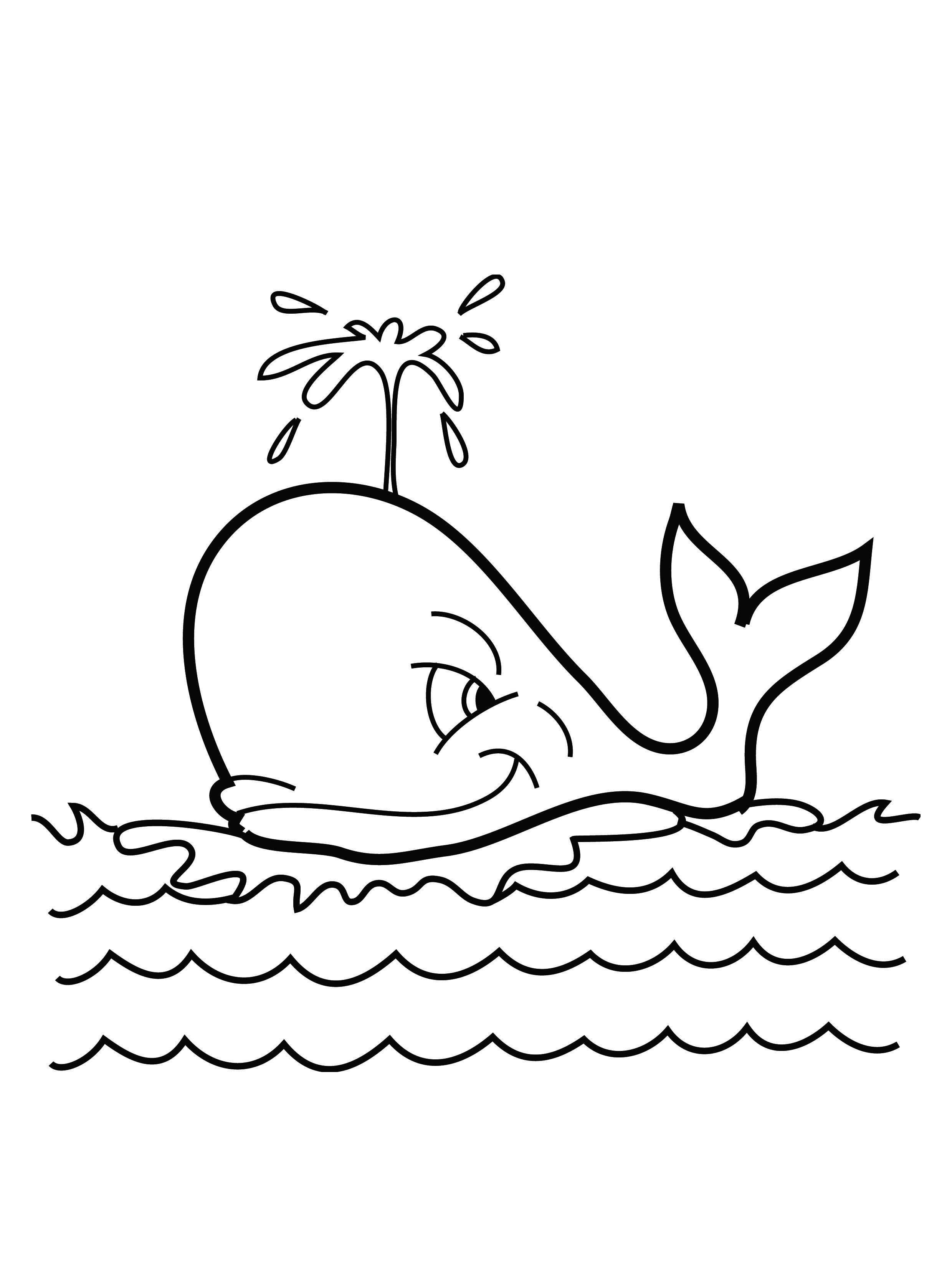 Cute Whale Drawing At Getdrawings