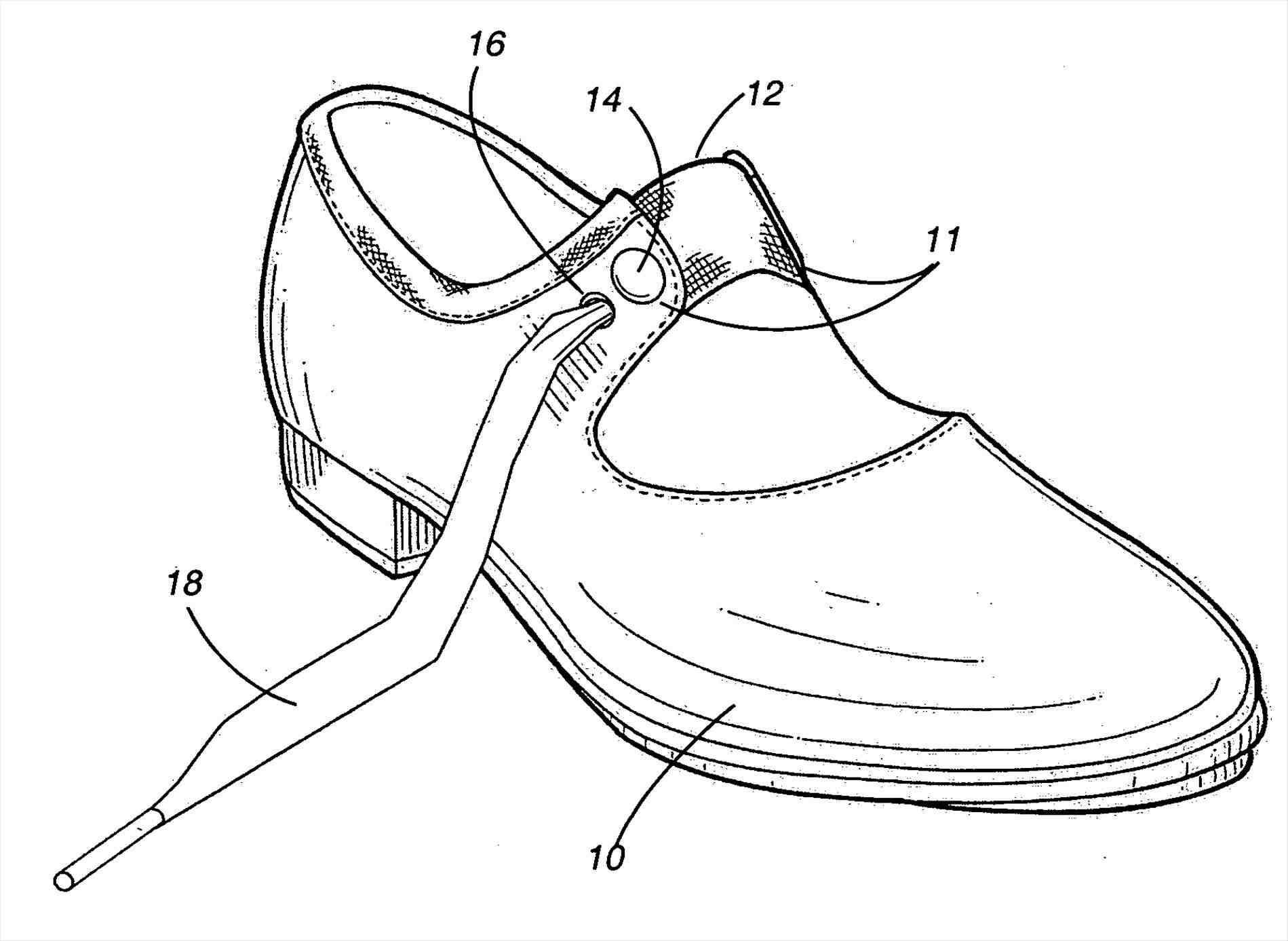 Dance Shoe Drawing At Getdrawings