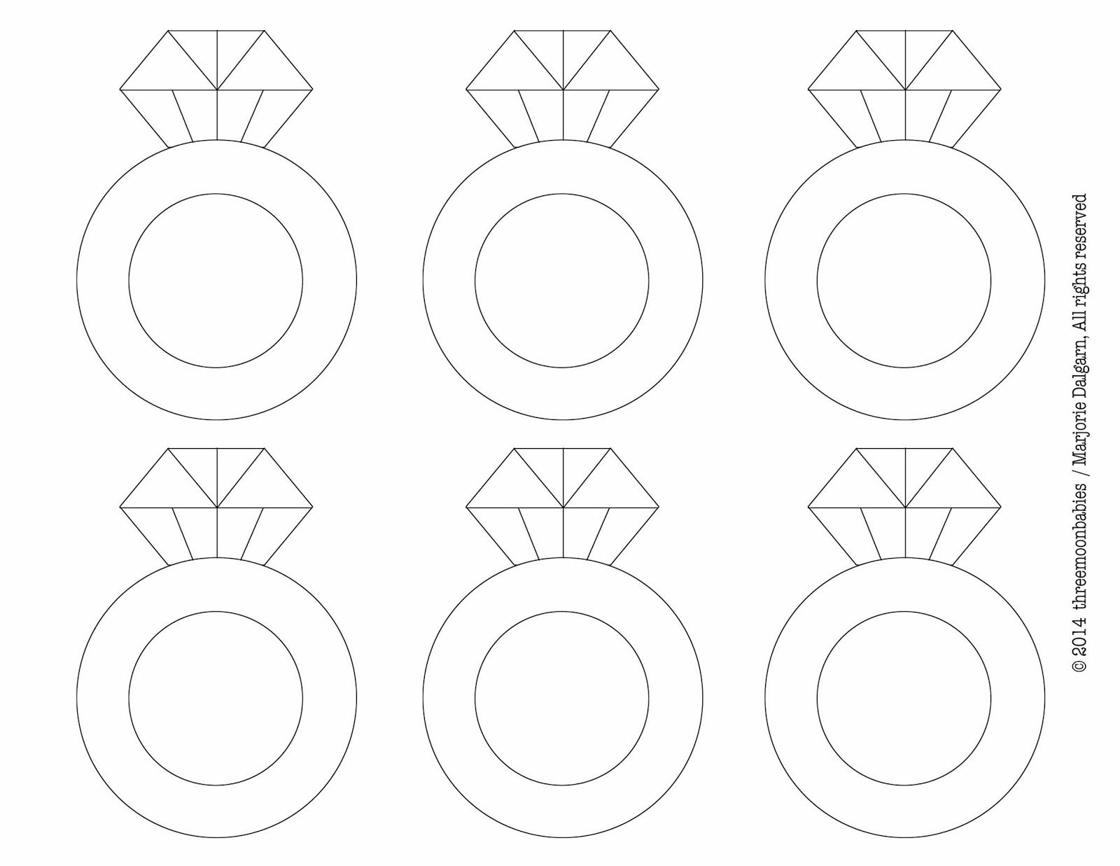 Diamond Drawing Template At Getdrawings