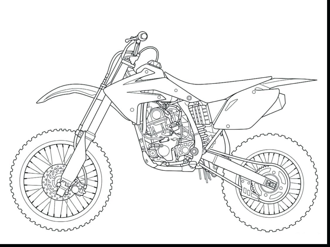 Dirt Bike Drawing At Getdrawings