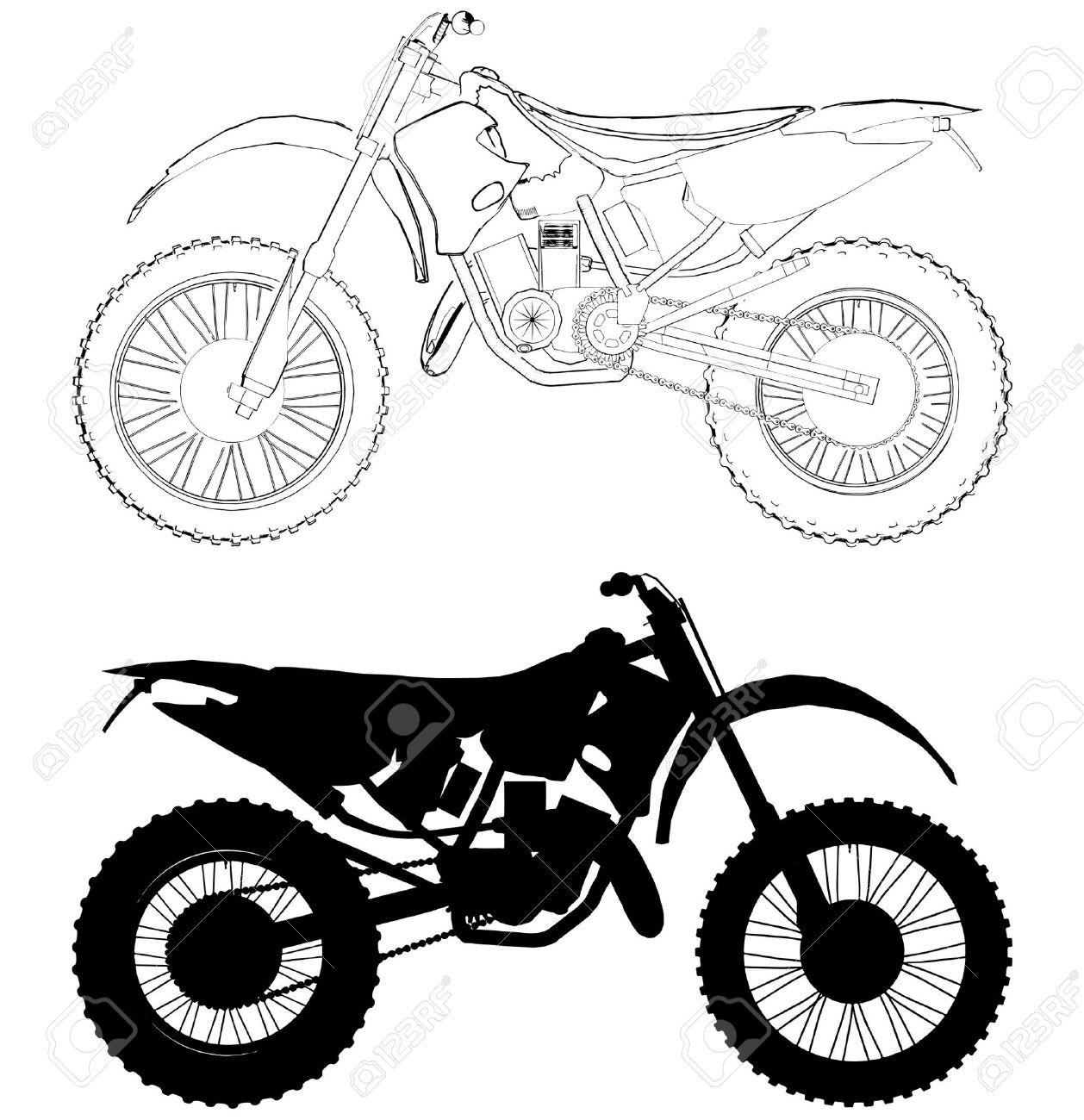 Dirt bike helmet drawing at getdrawings free for personal use