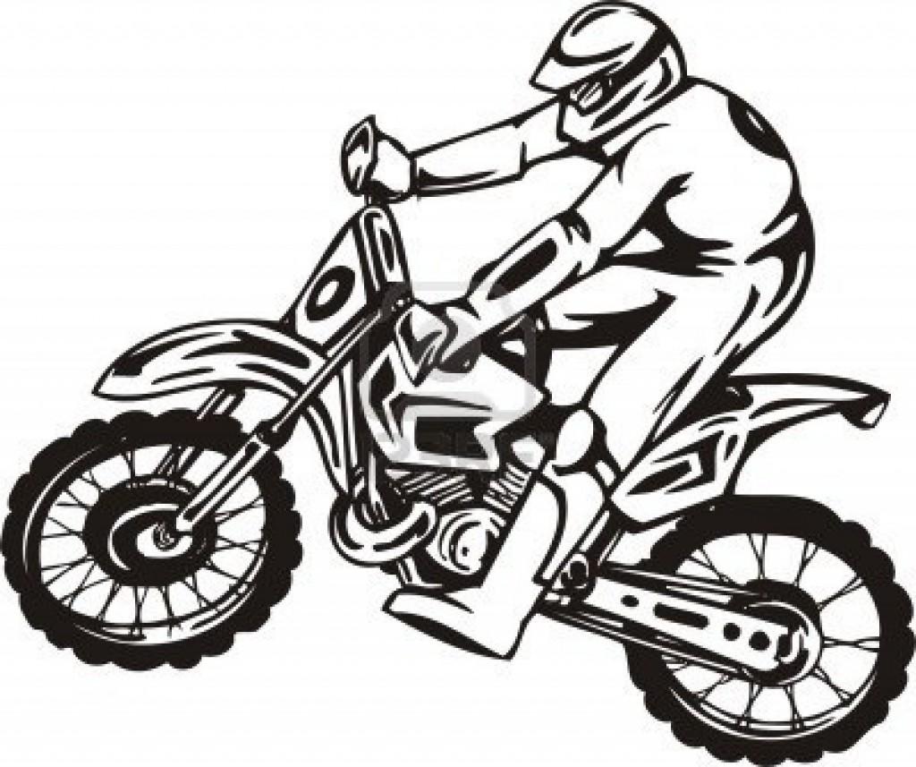 Dirtbike Drawing At Getdrawings