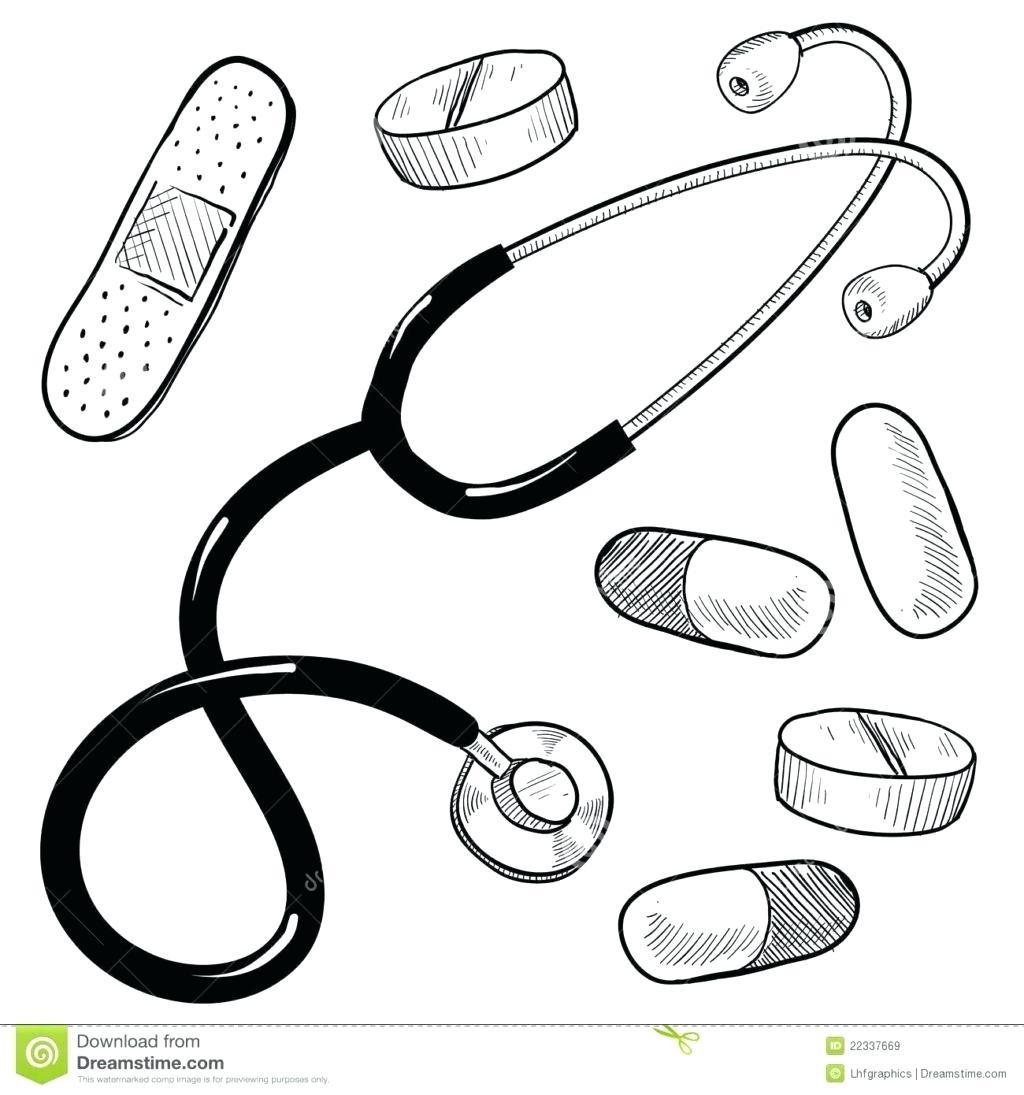 Doctor Tools Drawing At Getdrawings