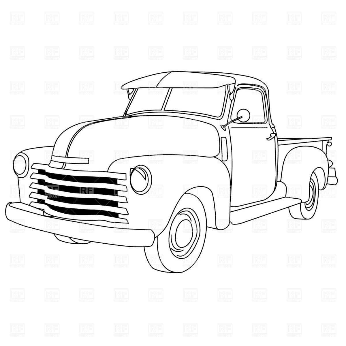 Dodge Truck Drawing At Getdrawings