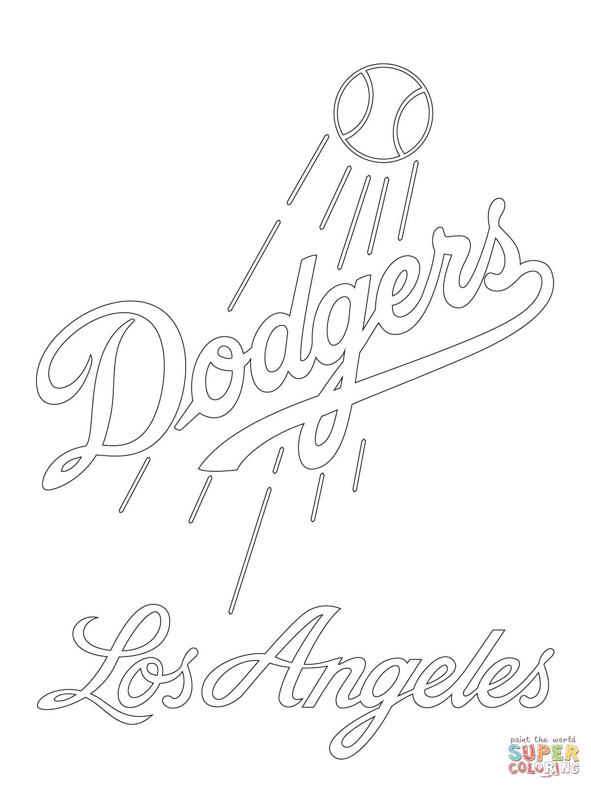 Dodgers Drawing At Getdrawings