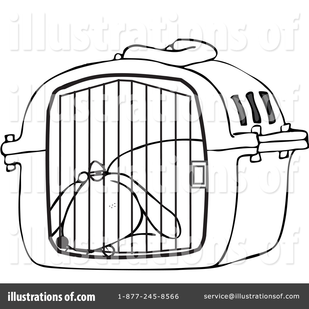 Dog Kennel Drawing At Getdrawings