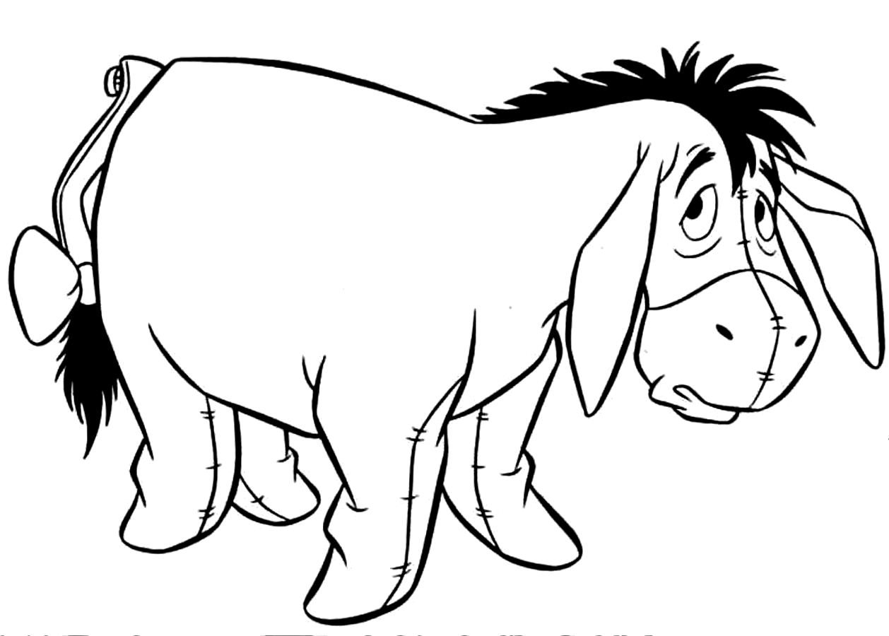 Donkey Drawing Easy At Getdrawings