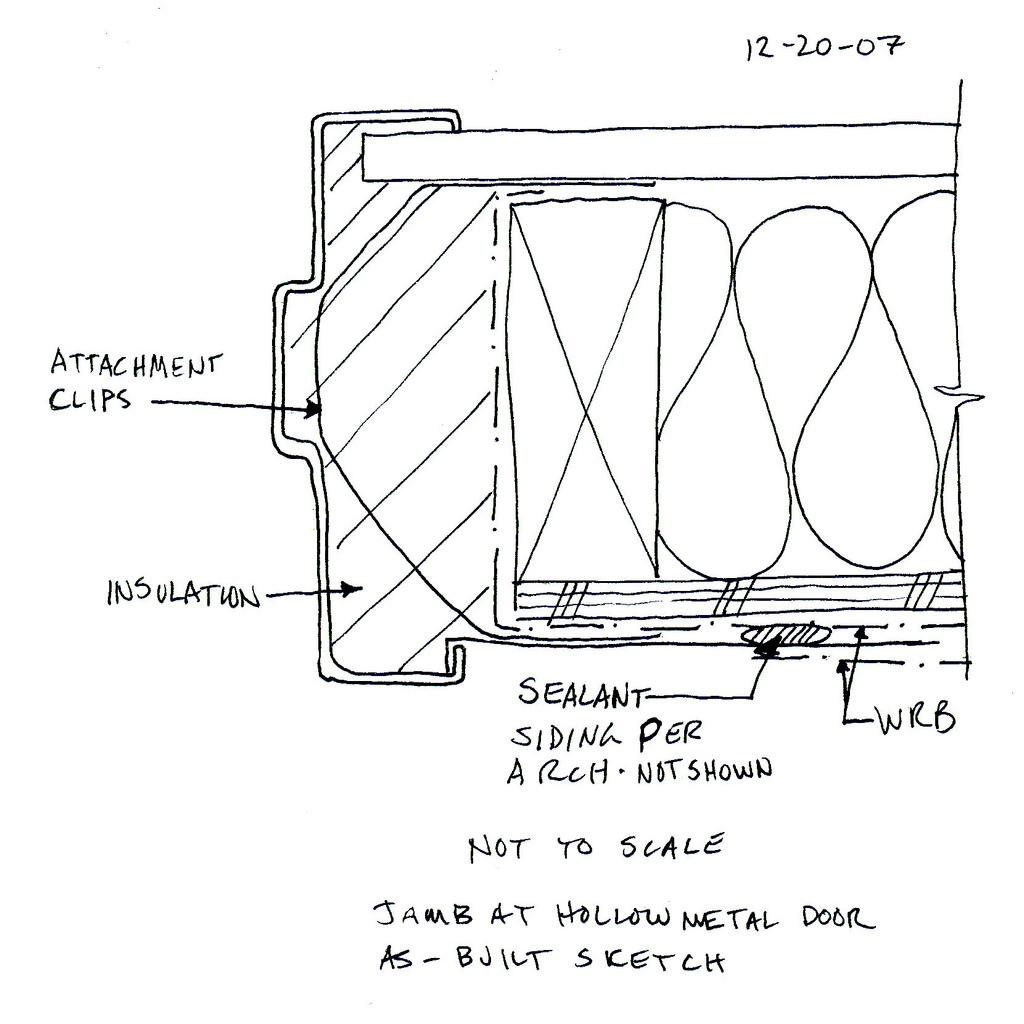 Door Detail Drawing At Getdrawings