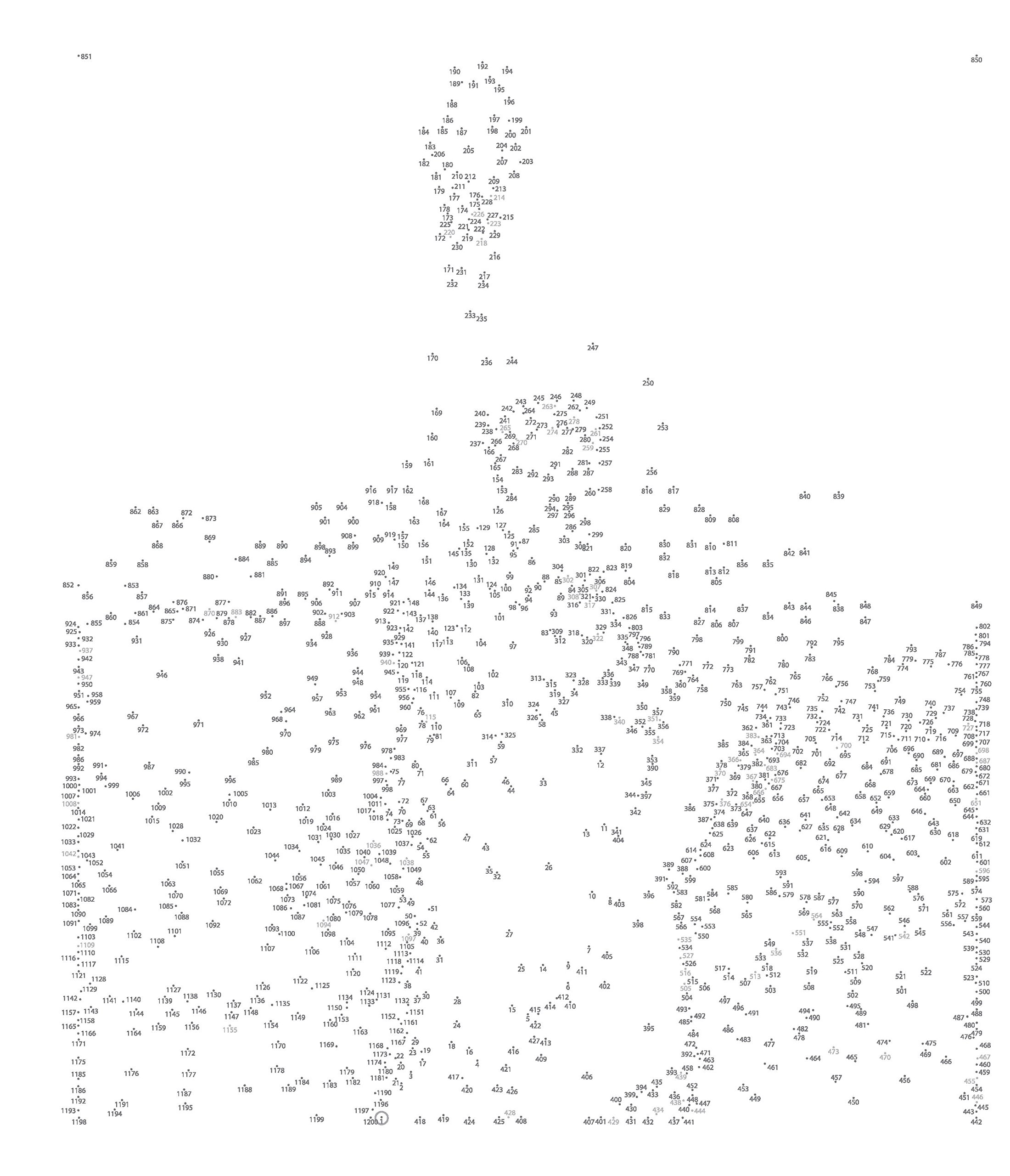 Dot To Dot For Adults At Getdrawings