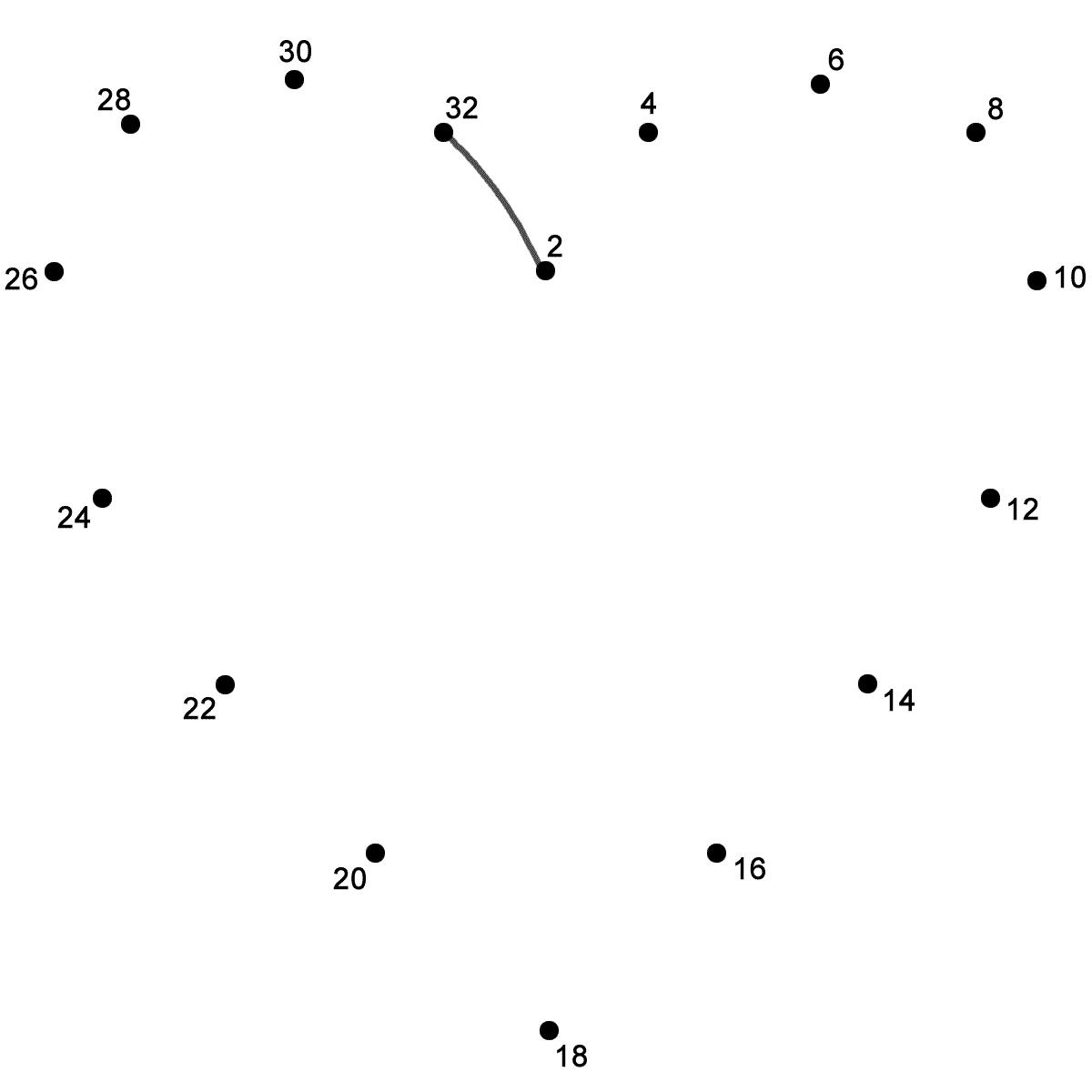 Dot To Dot Shapes At Getdrawings
