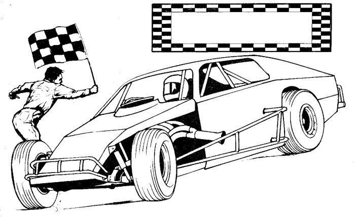 Drawings Top Fuel Dragster