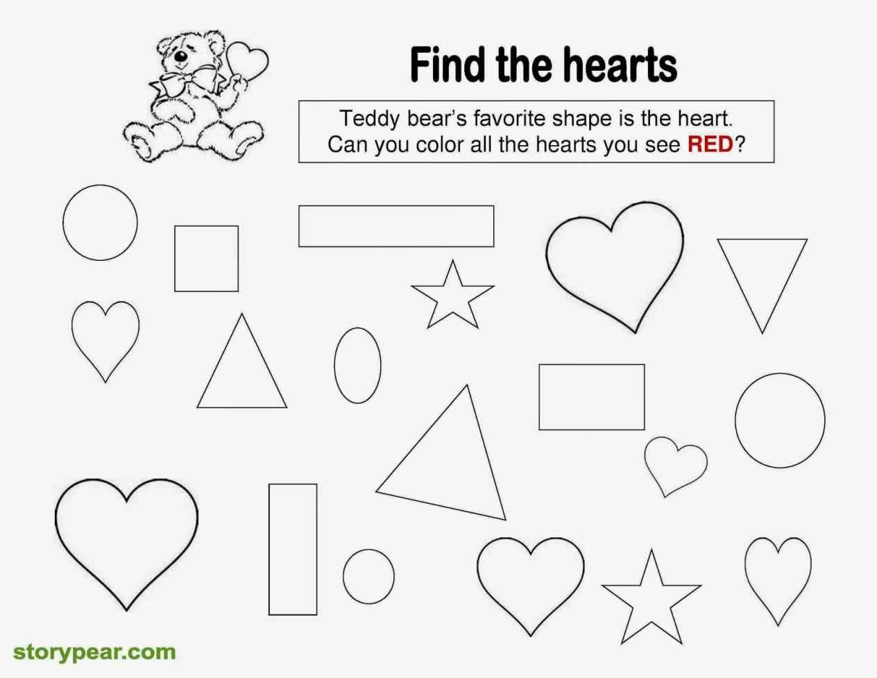 Drawing Worksheets For Preschoolers At Getdrawings