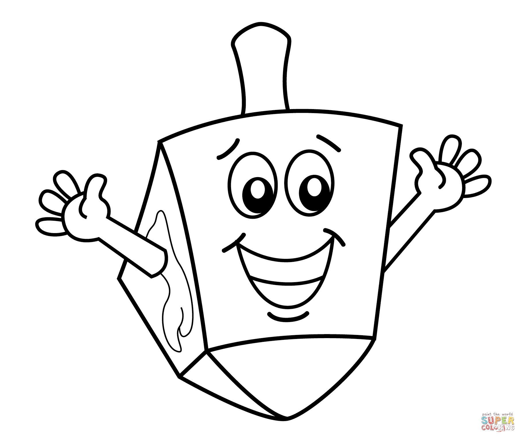Dreidel Drawing At Getdrawings