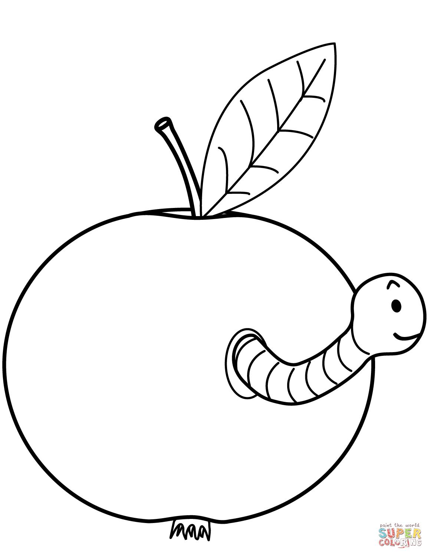 Easy Apple Drawing At Getdrawings