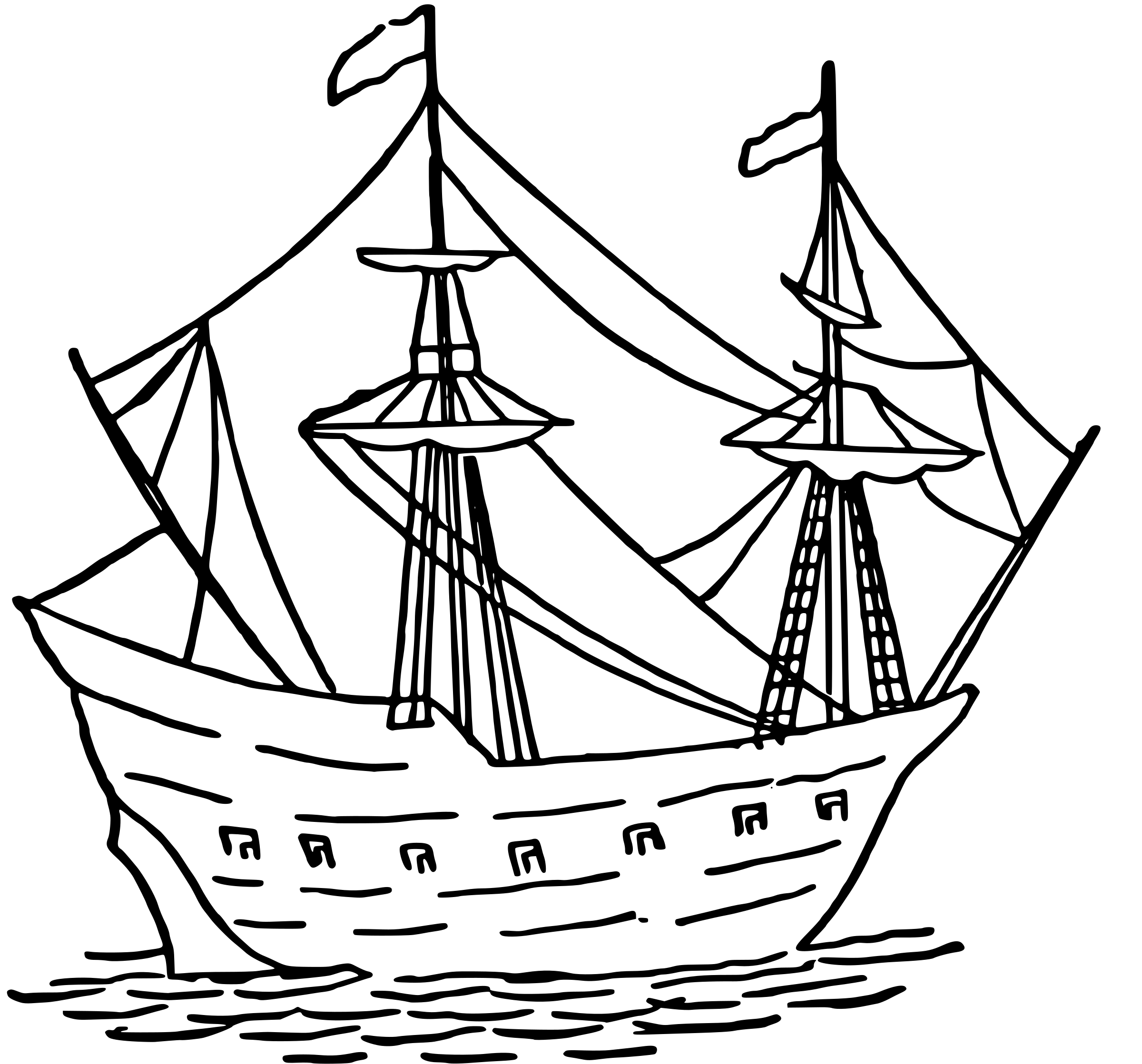 Easy Drawing Of Boat At Getdrawings