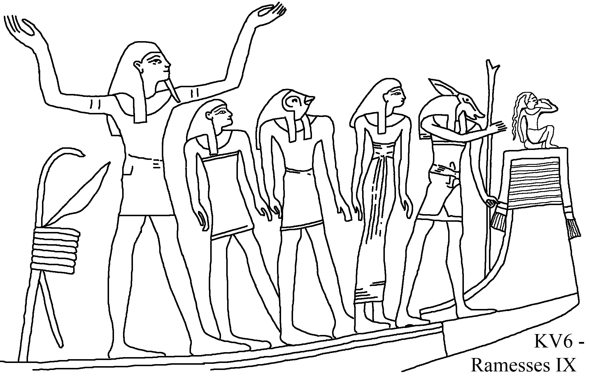 Egypt Drawing At Getdrawings