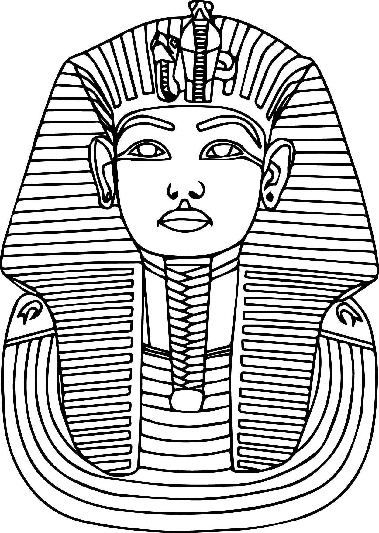 Egyptian Pharaoh Drawing At Getdrawings