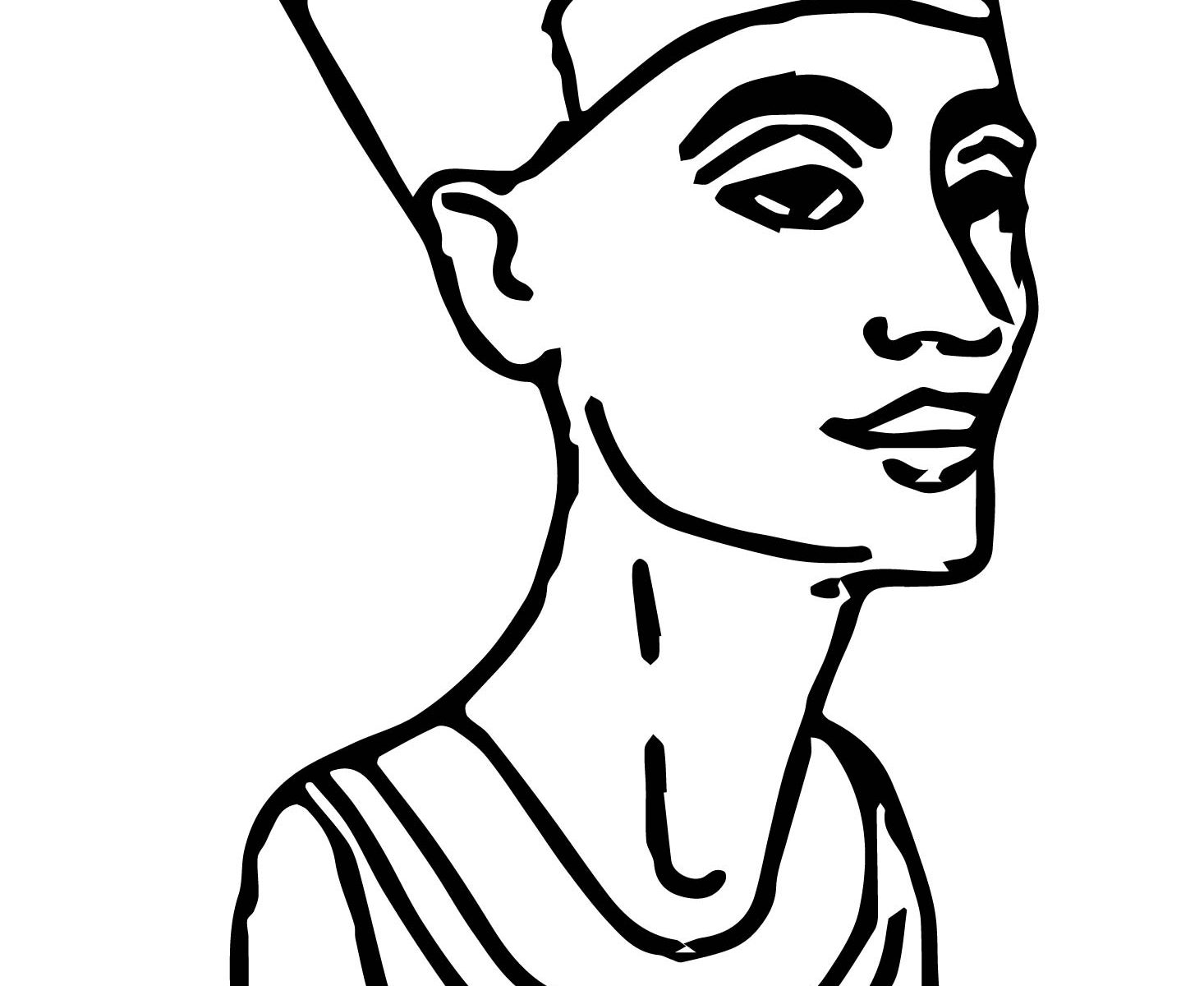 Egyptian Queen Drawing At Getdrawings