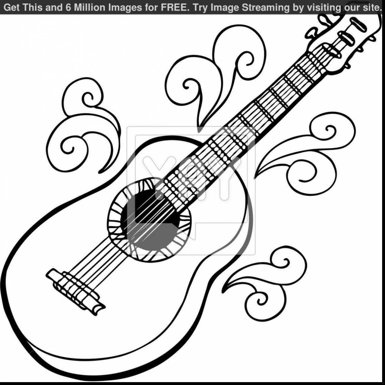 1331x1331 electric guitar coloring pages