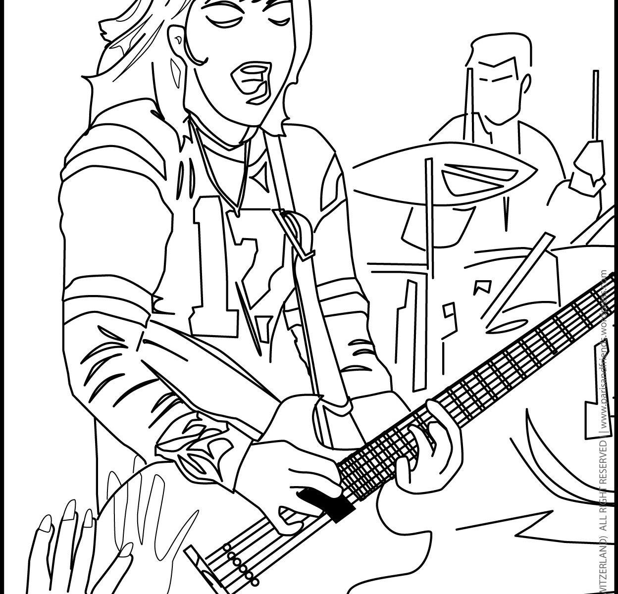 Electric Guitar Pencil Drawing At Getdrawings