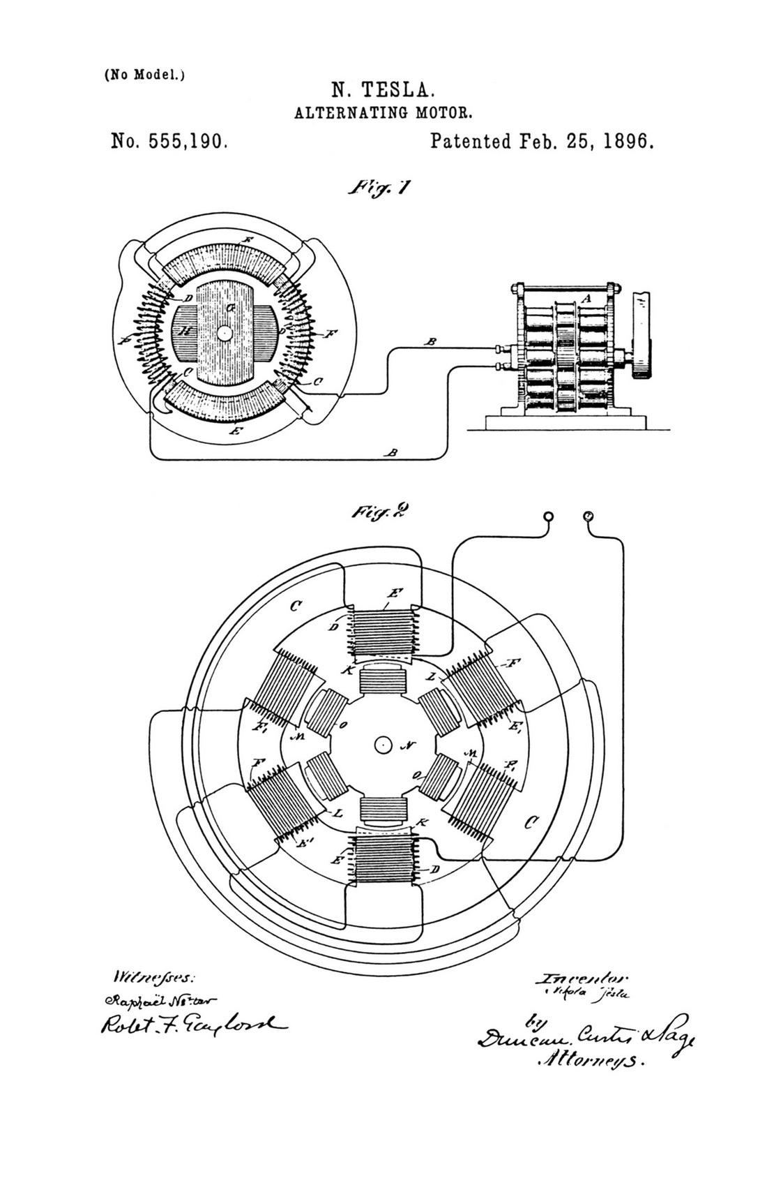 Electric Motor Drawing At Getdrawings