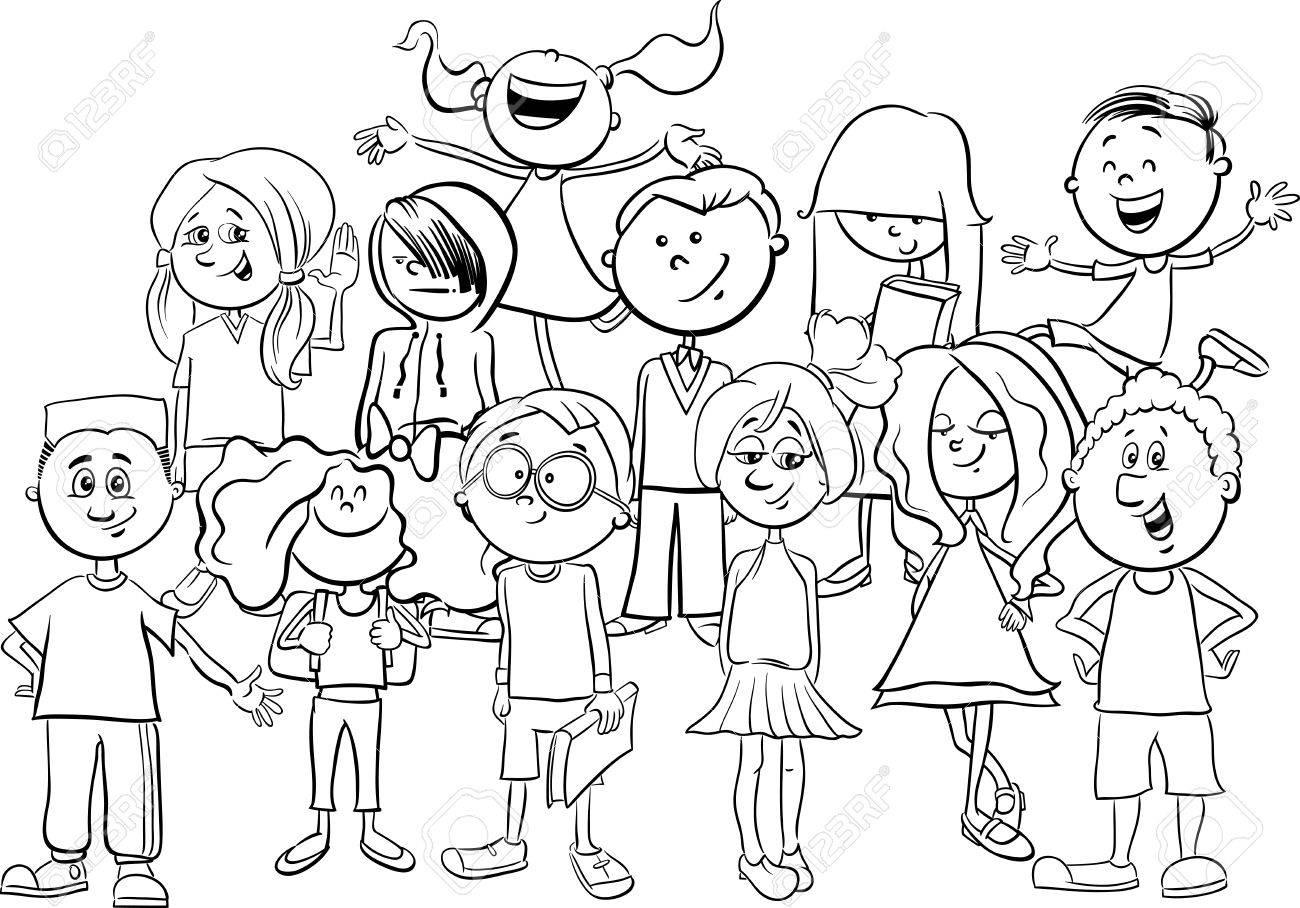 Elementary School Drawing At Getdrawings