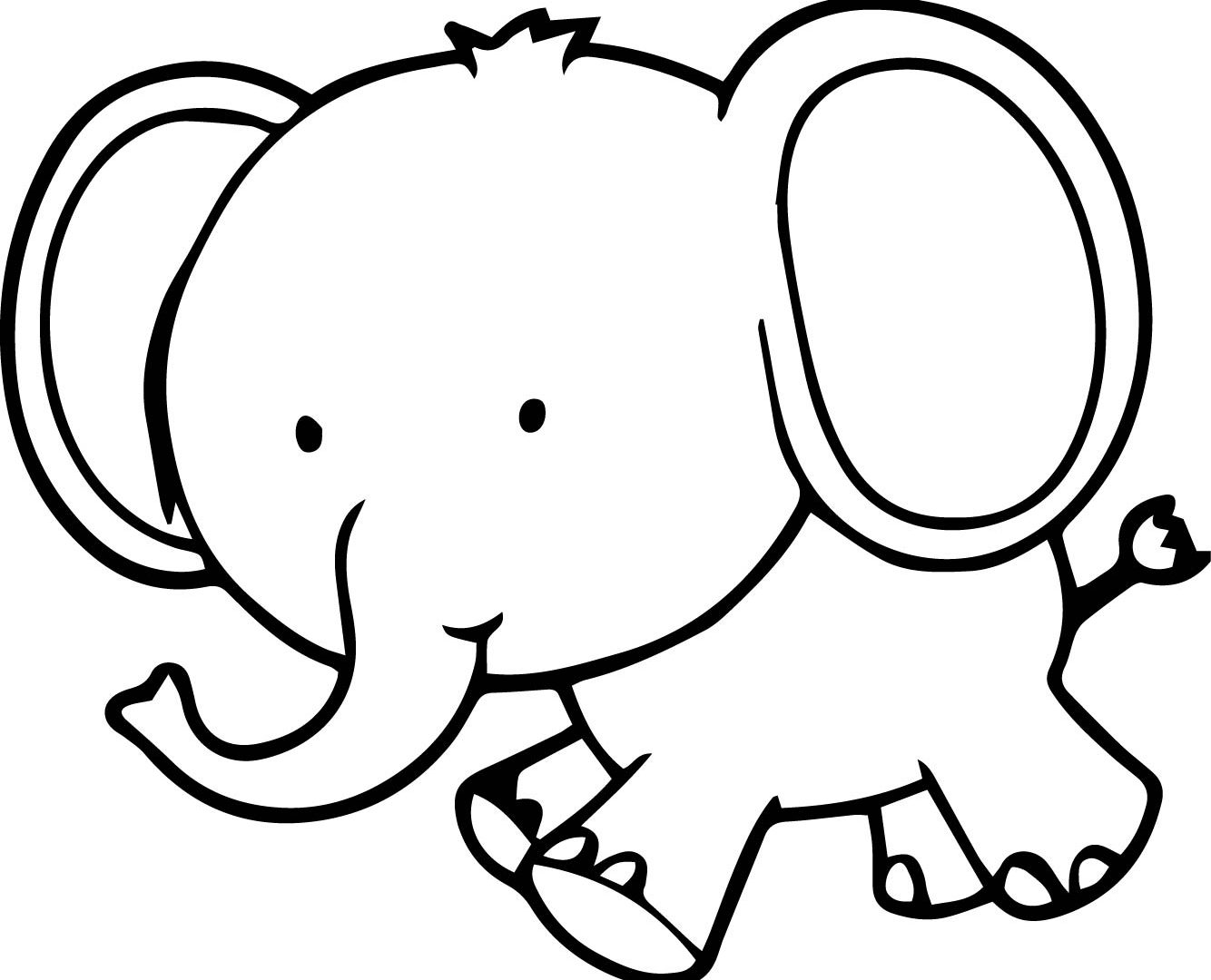 Elephant Baby Drawing At Getdrawings