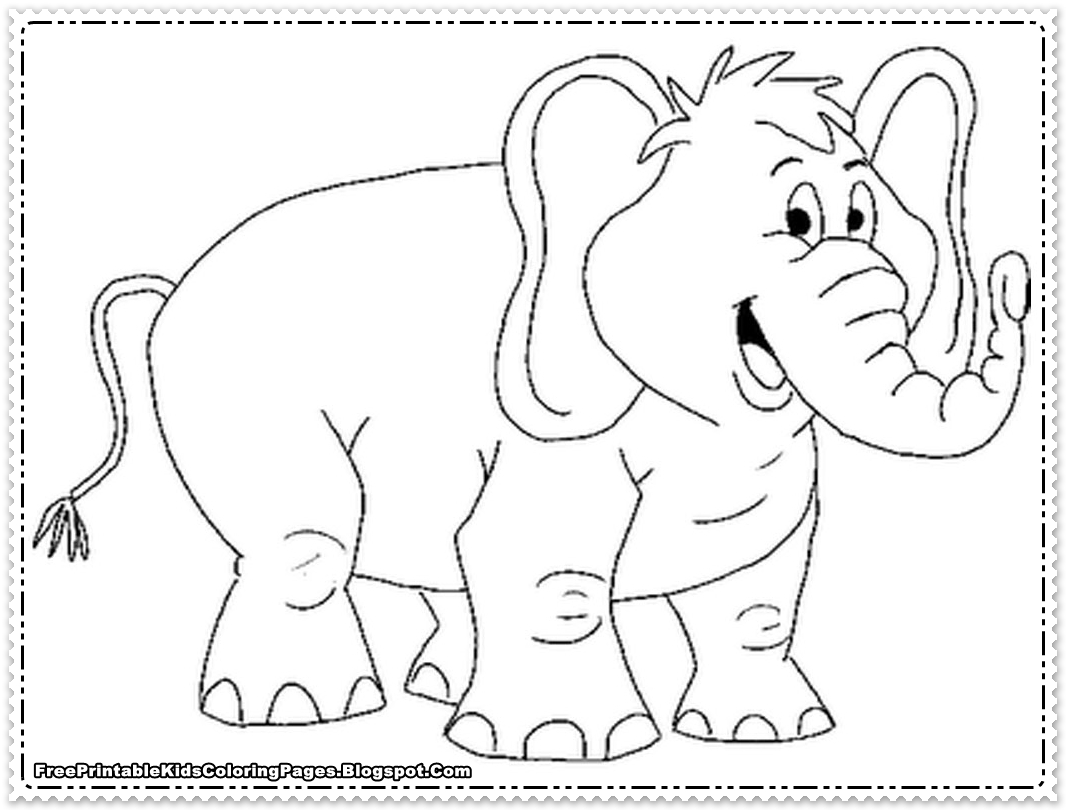 Elephants Face Drawing At Getdrawings
