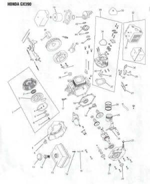Mercruiser Pre Alpha Outdrive Diagram Luxury Exploded View Gimbal Housing Mc 1 R Mr Alpha E