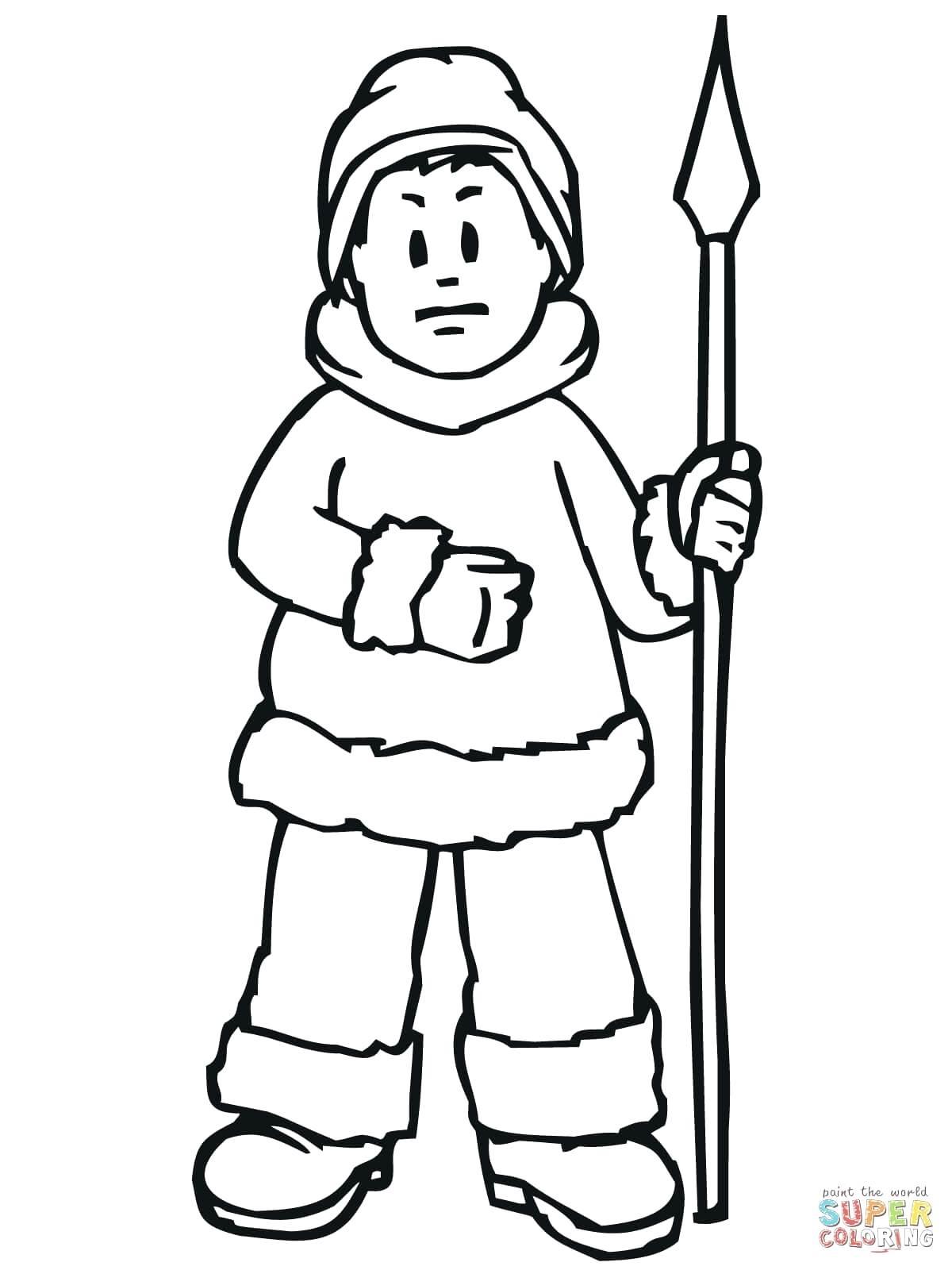 Eskimo Drawing At Getdrawings