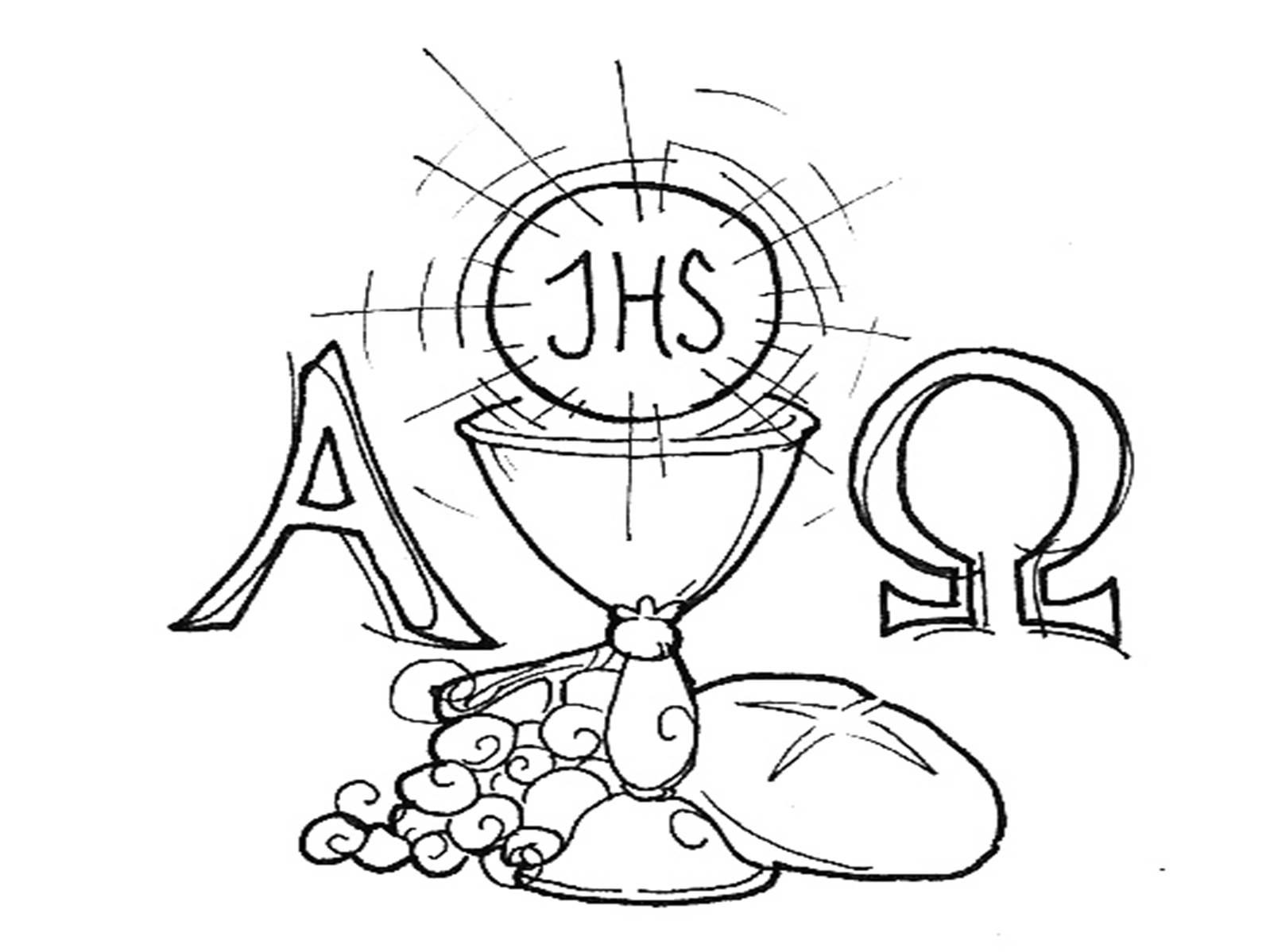 Eucharist Drawing At Getdrawings