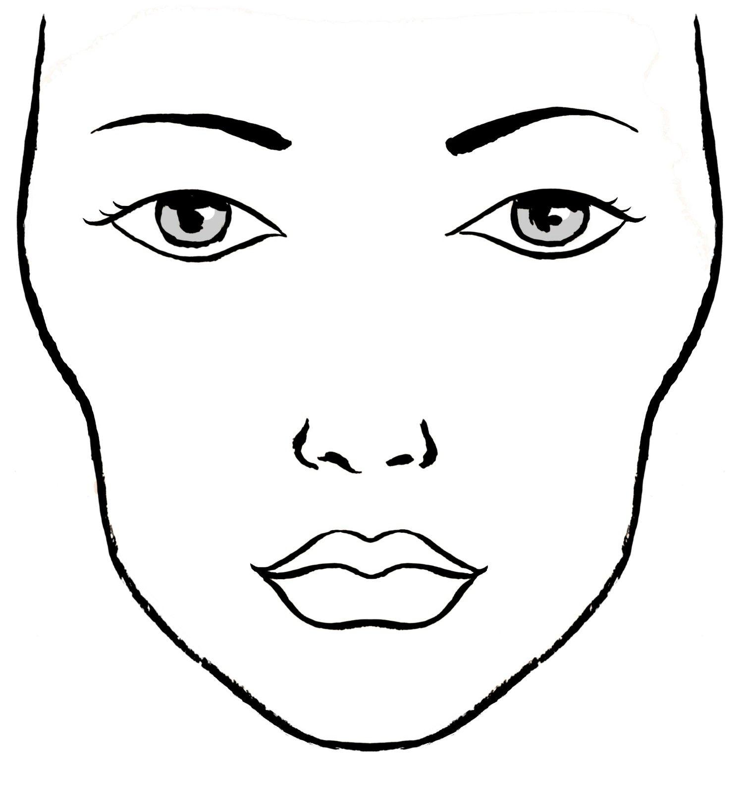 Eye Makeup Drawing At Getdrawings