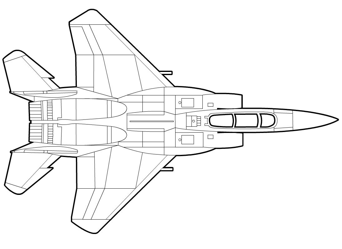 F 15 Drawing At Getdrawings