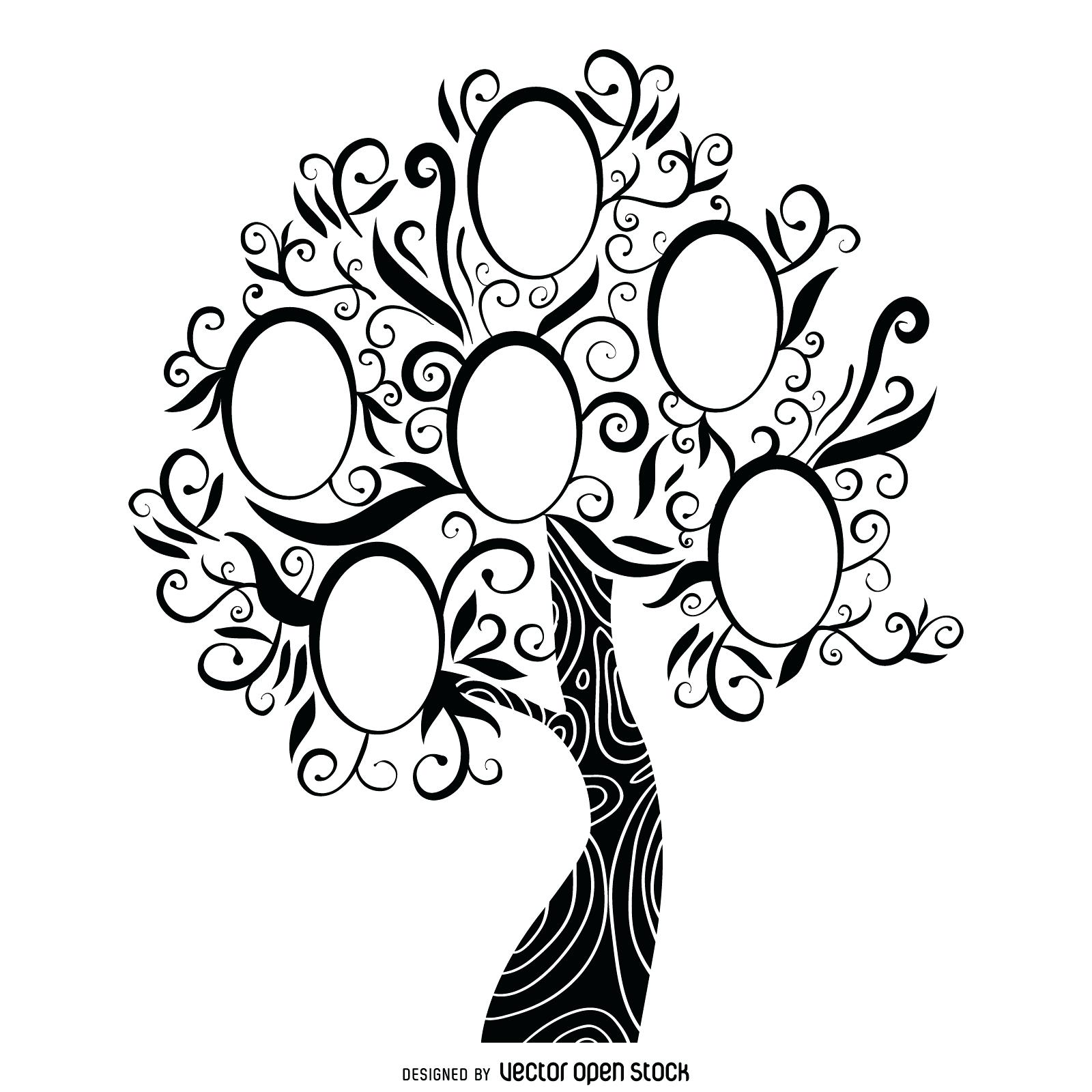 Family Tree Drawing Free At Getdrawings