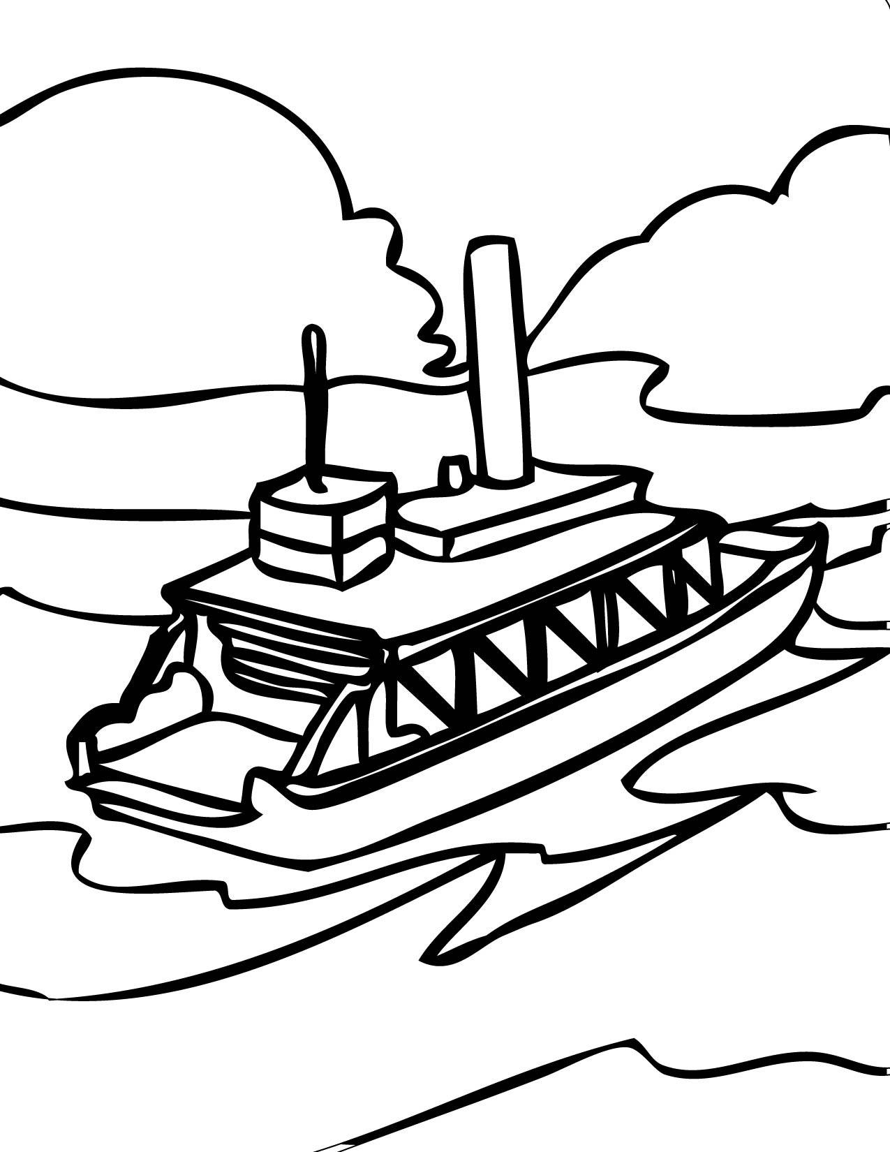 Sailboat Coloring Lesson