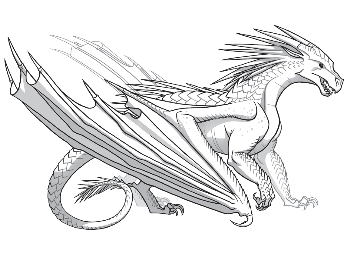 Fire Breathing Dragon Drawing At Getdrawings