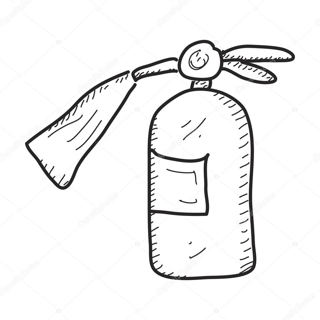 Fire Extinguisher Drawing At Getdrawings