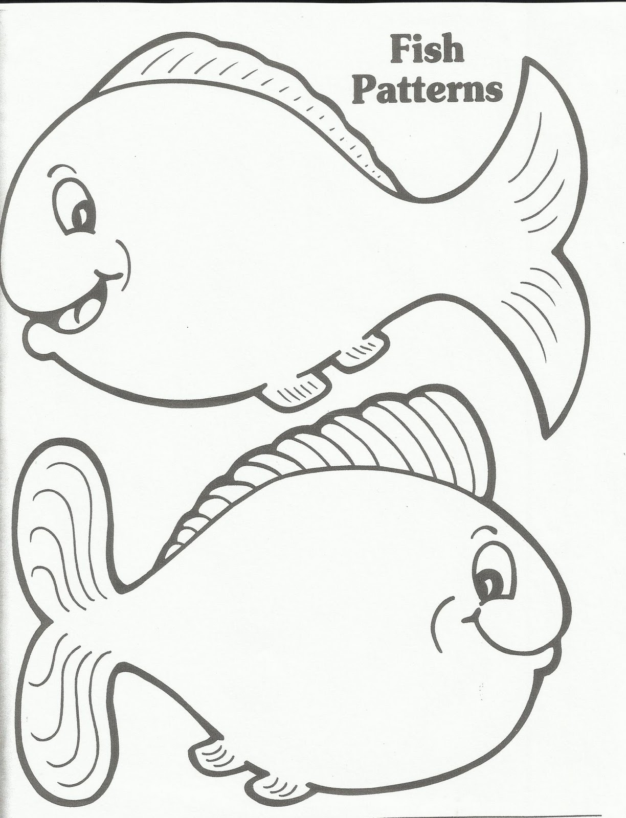 Fish Outline Drawing At Getdrawings