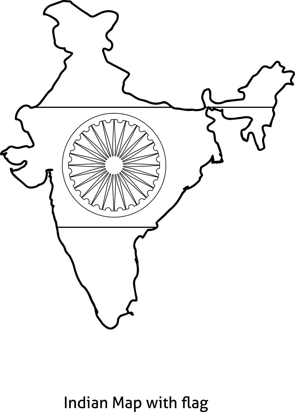 Coloring Pages About India