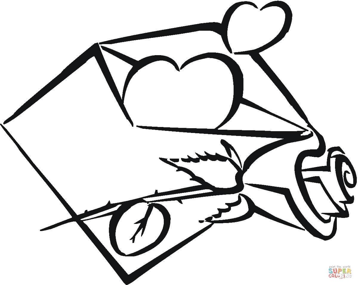 Flaming Heart Drawing At Getdrawings