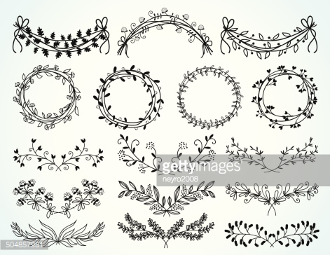 Flower Border Drawing At Free For