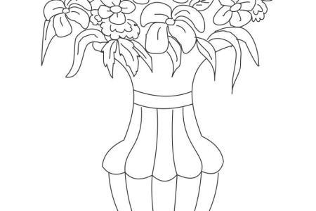 Flower Pot Drawing Easy Beautiful Flowers 2019 Beautiful Flowers