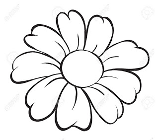 Flowers In Black And White Drawing At Getdrawings Com Free For