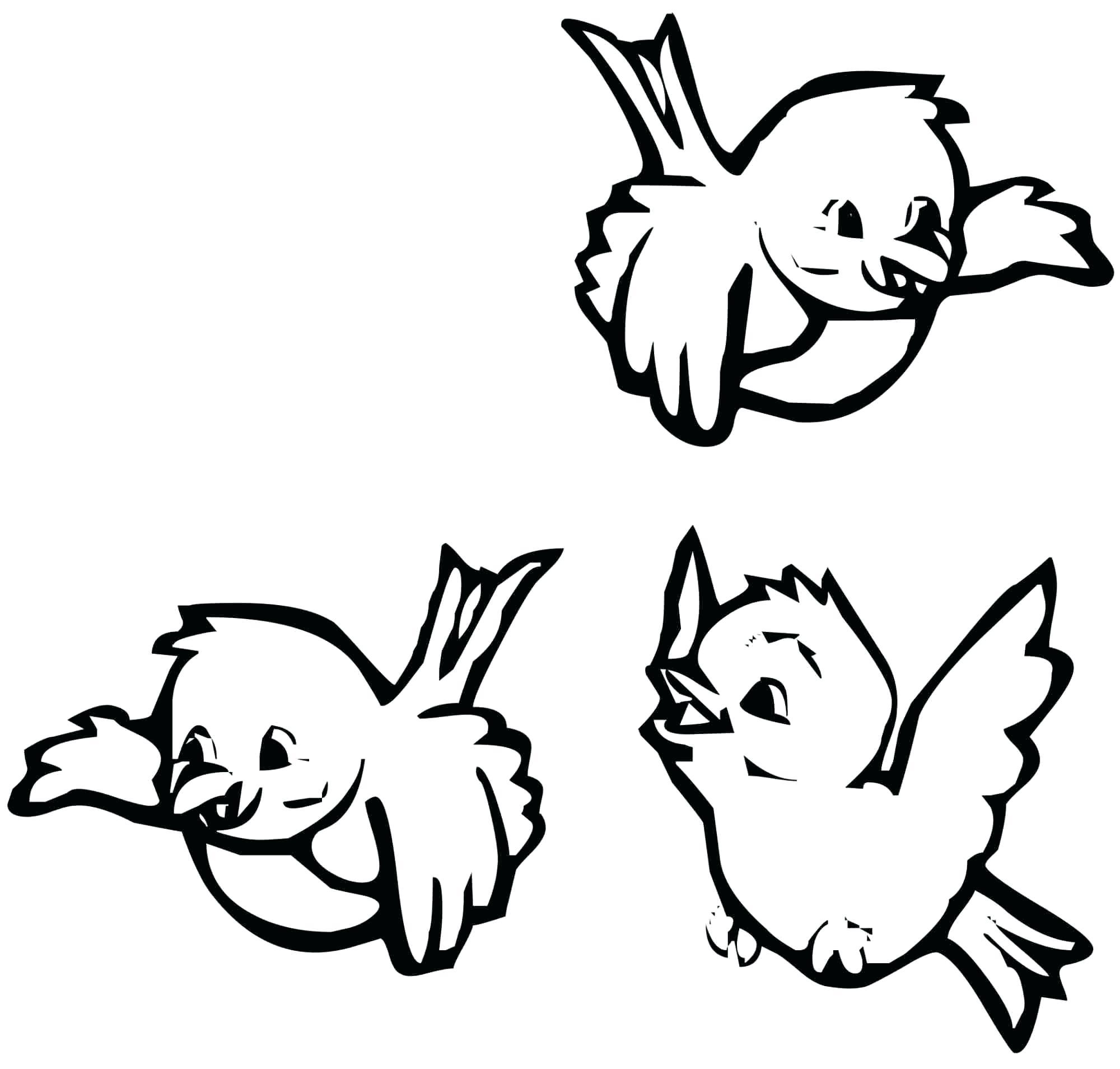Flying Bird Line Drawing At Getdrawings